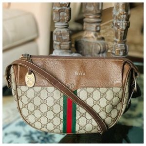 Authentic GUCCI Web Sherry Line GG
